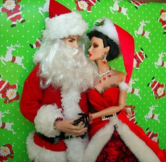 Christmas  Love !!! (napudollworld) Tags: santa christmas new fashion happy mr year barbie merry claus mrs royalty