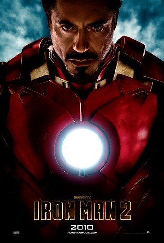 iron man 2 movie poster, robert downey jr