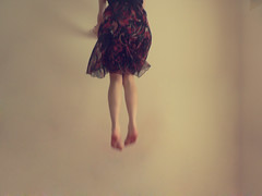 (miss sundress) Tags: woman girl fly jump dress legs levitation miss sundress backgroud
