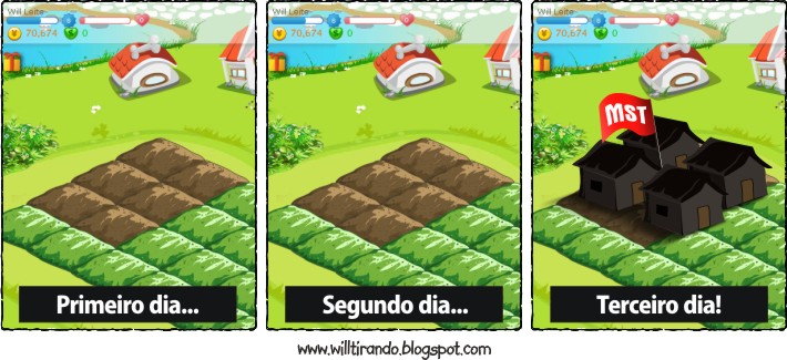Reforma Agrarária na Colheita Feliz!