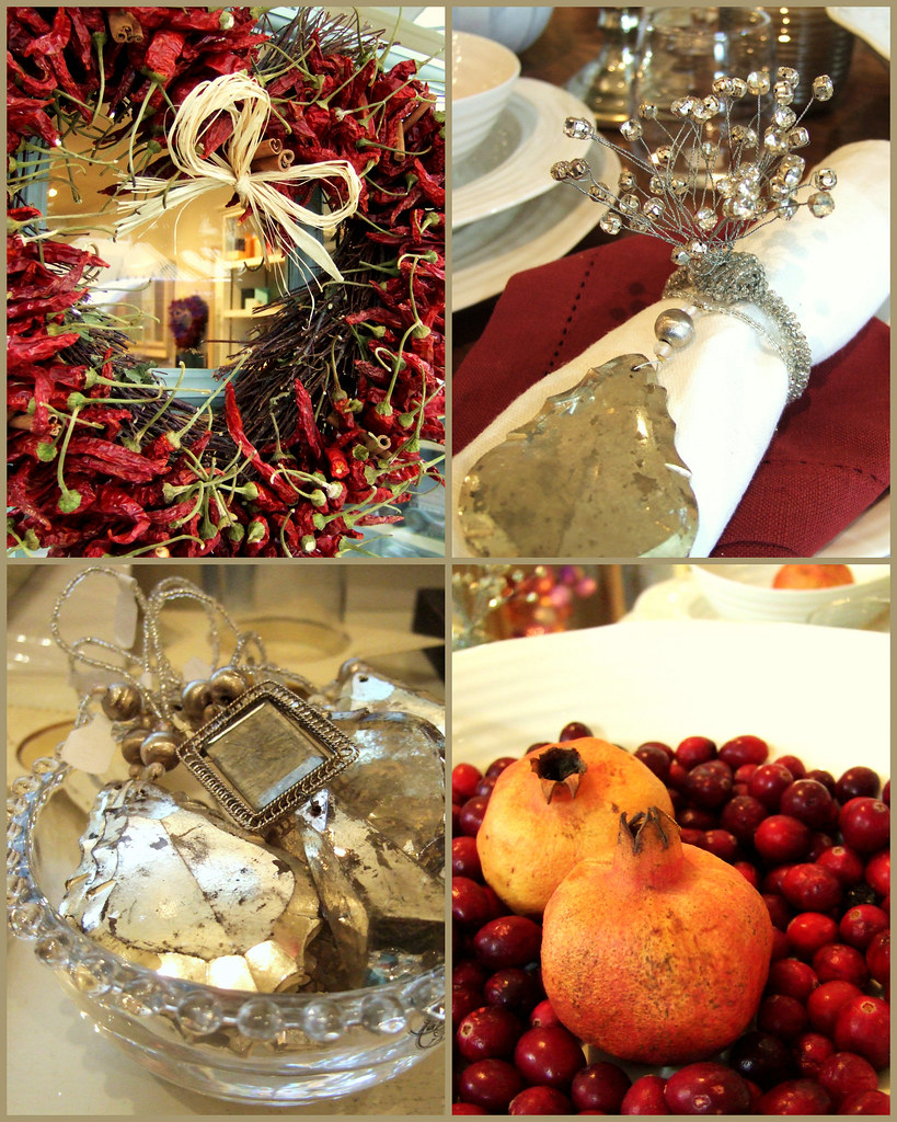 My client shop, Mia Wood, Kew - in Christmas mood 15/12/09