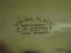 Stamp on Tray