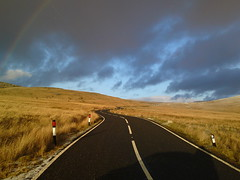 Top Gear 'test track' (l66sld) Tags: road mountain black rainbow top gear brynamman a4068