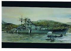 Tirpitz (FrigateRN) Tags: by john paintings omeara