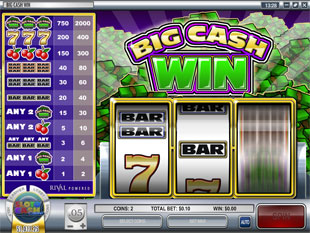 Big Cash Win slot game online review