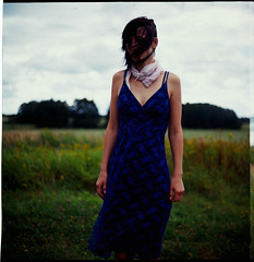 (leonhard.ktzel) Tags: 2002 film girl mediumformat dress wind kodak slide ektachrome100 expired kiev60 80mm28