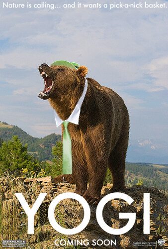 Mock-up of the Yogi Bear 2010 movie poster