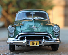 Model: 1949 Oldsmobile 88 2-Door Coupe (1 of 10) (myoldpostcards) Tags: model modelcar modelcars models hobby collection collectibles 124 scale auto autos automobile motorvehicle car cars antiquecar classiccar oldcar collectiblecar vintagecar myoldpostcards vonliski generalmotors gm 1949 oldsmobile 88 eightyeight 2door coupe rocket88 danburymint