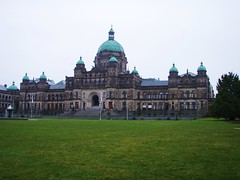victoria BC - The Parliament Building