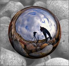 En mi burbuja... (Bolnuevo, 03-01-2010) (Arnaldo Gutiérrez) Tags: españa macro spain murcia cartagena buble boladenavidad agutirz