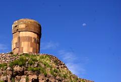 Funeral tower (Lindblom) Tags: peru andes bwy swy