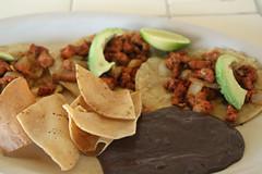 Tacos de Puerco in Akumal
