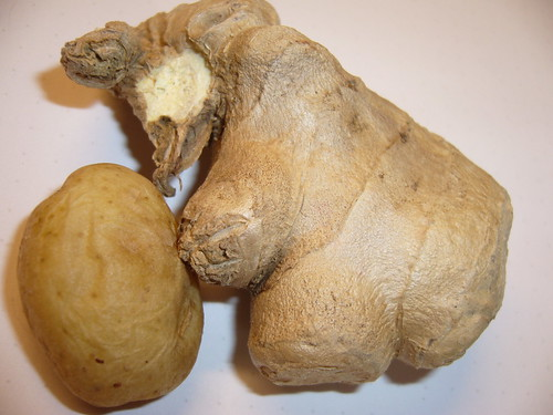 Ginger vs potato