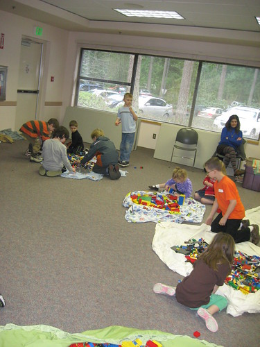 at lego club