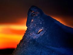 """""""Dutch iceberg on fire"""" (B℮n) Tags: winter sunset cold ice colors iceage evening frozen topf50 bevroren nederland vivid greenhouse sphere dijk topf100 bizarre dike extraordinary flevoland ijsselmeer frozenlake almere kou ijs icefield vividcolors polarice icecold sfeer fireandice ijmeer icemountain winterinholland markermeer hummocks wildcolors 100faves 50faves koude vriezen icedrift driftice kruien winter2010 ijsschotsen kruiendijs oostvaardersdijk klimaatveranderingen winterinthenetherlands vuurenvlam ijsvlakte glacialage skylineofamsterdam zoetwatermeer littleiceageruns eilandpampus islandpampus ijskappen spectaculairbevroren tedunijs meltinghummocks ijmeerbevroren frozenlakeijmeer klimaatopaarde icedrifting hollandwinter2010 icebergonfire flamesandfire dramaticevening extremesunseticedrift topofaniceberg topeoftheicebergonfire littledutchiceberg"""