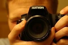 Easing Into Self (devin.berg) Tags: self 50mm mn wbl project365 k100d smcpa50mmf20 justpentax