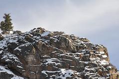 Near Almont, Colorado (Colorblind In Colorado) Tags: winter usa lake snow mountains water river rockies agua nikon colorado stream butte dam nieve monarch taylor subaru co northamerica outback rockymountains crested   crestedbutte gunnison  105mm  almont taylorriver d90   iso1000 ni taylorreservoir nikond90 16 1068mm 18105mm3556 160 datetaken:hour=00 datetaken:second=14 datetaken:year=2010 datetaken:minute=08 datetaken:day=08 datetaken:month=01 datetaken:dow=friday datetaken:date=20100108