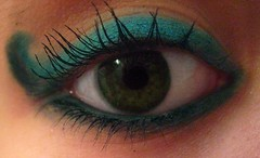 eye. (coco aice.) Tags: blue green eye teal makeup