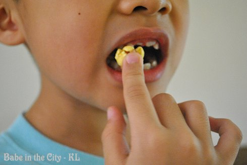popcorn yummm