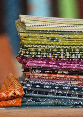 Flower Valley Quilt - fabrics