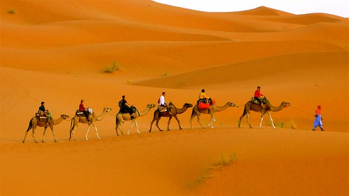 Auberge du Sud, Hotel Merzouga Dunes in Morocco
