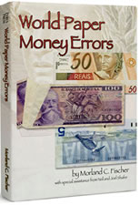 New World Paper Money Errors Book