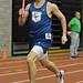 East Catholic's Kevin Kosis during the final leg of the men's 4x400.