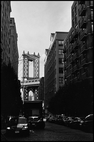 My version of an oft-taken photo of the Manhattan Bridge.