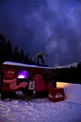 fritz box (countmeinphotography) Tags: snowboarding thringen ride forum slide snowboard k2 burton snowpark backflip heubach kontest