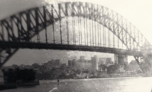 Luna Park under Sydney Harbour Bridge, 1973