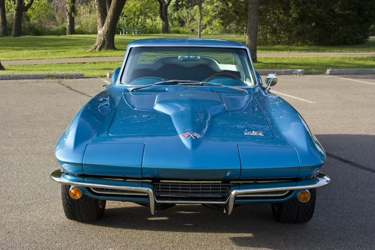 1966 Corvette Sting Ray 427 after detail