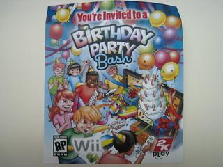 Wii Game Birthday Bash