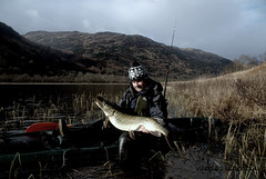 Way to do it.... (Nicolas Valentin) Tags: fish nature water landscape scotland fishing scenery kayak hobby h2o 16 pike lochlomond nicolasvalentin