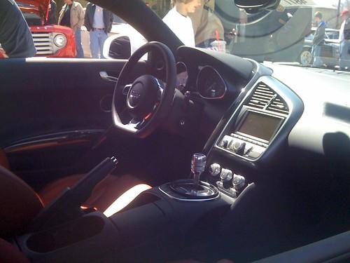 Audi R8 Interior. V10 Audi R8 interior