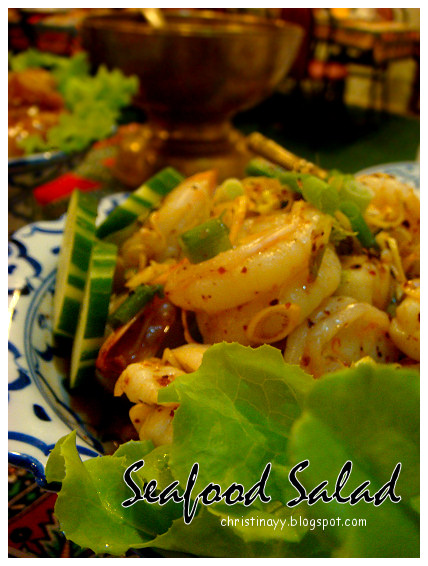 Thai Cottage Restaurant: Seafood Salad