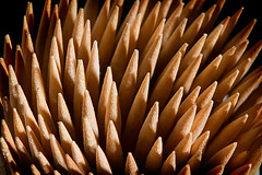 Palillada (pepi.david) Tags: wood macro canon eos photo madera 100mm toothpick 7d palillo mondadientes