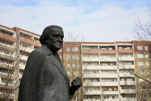 Clara Zetkin memorial in Ahrensfelde