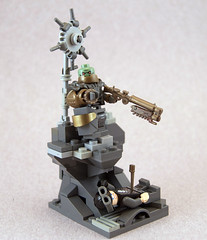 Grand Titan of the Copper Suns (Titolian) Tags: lego grand copper leader titan suns supreme tartarus usdf