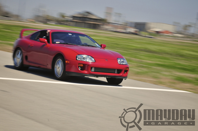 Who says Supras are only dyno queens?