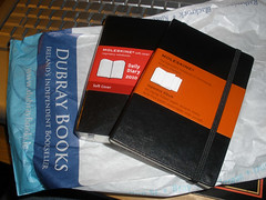 Moleskine shopping for 2010
