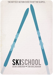ski school (madfishes) Tags: poster 80s movies skischool redesign