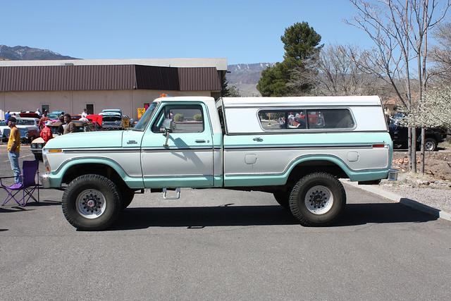 show arizona hot ford car 4x4 pickup az cottonwood rod custom camper f250