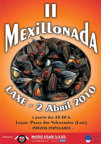 Mexillonada Laxe - 2010 - 2ª edición - abril - cartel