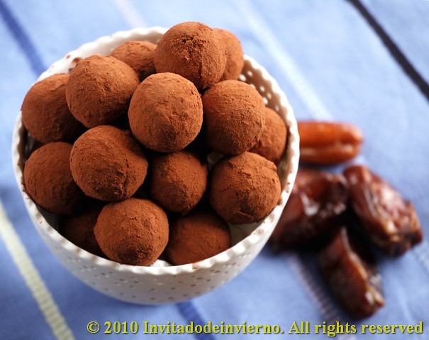 Date truffles 1