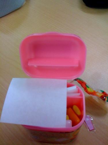 caja chicles III