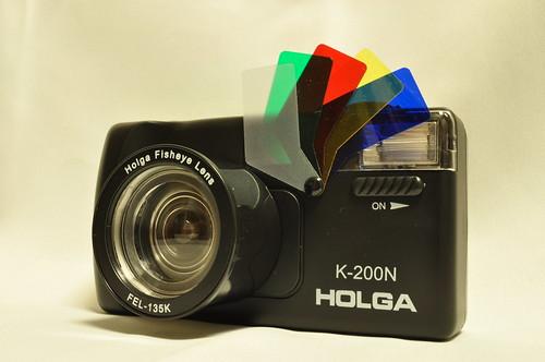 HOLGA K-200N Fisheye