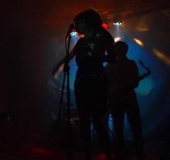 en concert (blog_bleistift) Tags: concert musik konzert karlsruhe kontrast silhoutte schwarz dunkel saxophon sonyalpha300 legranduffzaque