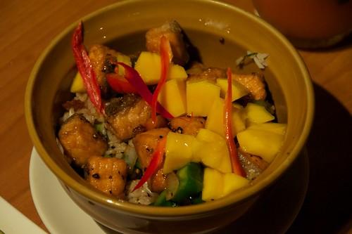 鮭魚芒果飯