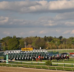 DSC_0615 (downthestretch53) Tags: jockeys horseracing pimlico thoroughbreds silks pimlicopreaknessmeet