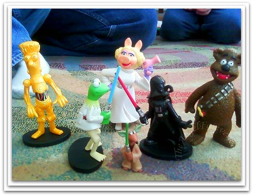 Muppets go Star Wars